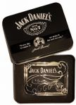 Jack Daniel's Old No.7 Scroll Officially Licensed Belt Buckle with Collectors Tin. Code AZ5
